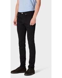 Paul Smith Slim-standard Dark Navy 'blue/black Reflex' Jeans