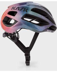 Paul Smith - Kask 'Rainbow Gradient' Protone US Cycling Helmet - Lyst