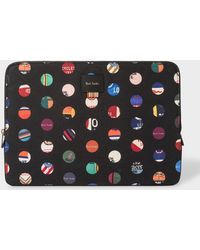 "Paul Smith - 'Cycle Dot' Print 13"" Laptop Sleeve - Lyst"