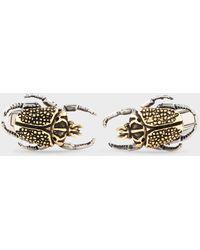 Paul Smith 'beetle' Cufflinks - Multicolour
