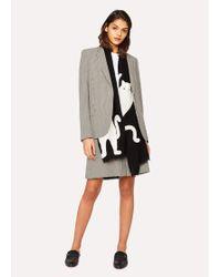 algodón de Falda mujer multicolor de para pie nON8wPX0k