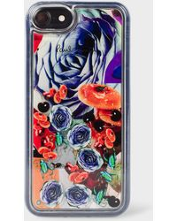 Paul Smith - 'Rose Collage' Motif iPhone 6/6S/7/8 Case - Lyst