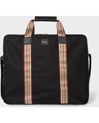 Paul Smith - Black Signature Stripe Suit Carrier - Lyst