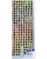 Paul Smith 'instant Photo' Silk-blend Scarf - Multicolour