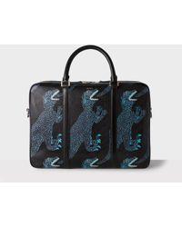 Paul Smith - Dinosaur Leather Briefcase - Lyst