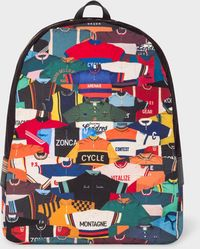 Paul Smith - Sac À Dos Homme 'Cycling Jersey' En Toile - Lyst