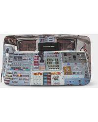 Paul Smith Men's 'Space Shuttle' Print Wash Bag - Multicolor