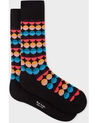 Paul Smith - Black 'Sunset Spot' Socks - Lyst