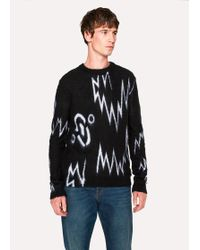 Paul Smith - The Chemical Brothers For Hingston Studio - Black 'Born In The Echoes' Jumper - Lyst