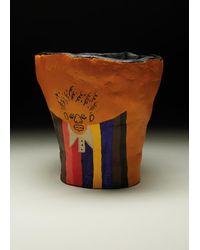 Paul Smith 'dream Suit' Yellow Pot By Joy Yamusangie