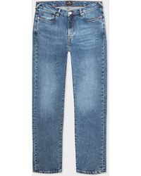 Paul Smith Slim-fit Mid-wash 'dry Indigo' Jeans - Blue