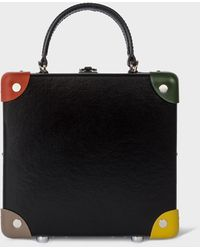 """Paul Smith Sac À Main 'London Square' 7"""" Edition Two - For Globe-Trotter - Noir"""