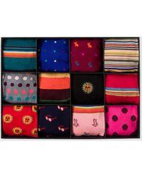 Paul Smith Socks Gift Box - Multicolour