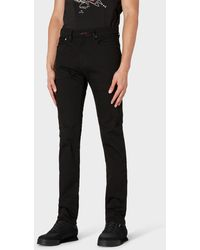 Paul Smith Slim-standard 'stay Black Reflex' Denim Jeans