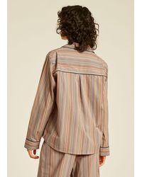 Paul Smith Signature Stripe Cotton Pyjama Set - Multicolour
