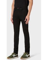 Paul Smith Skinny-fit 'stay Black Reflex' Denim Jeans