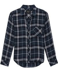 Rails Hunter Spruce White Shirt
