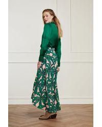 FABIENNE CHAPOT Cora La La Leaves Skirt - Green