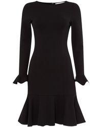 Goat Jilly Jersey Pencil Dress - Black