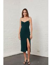 Bec & Bridge Margaux Panel Dress - Green