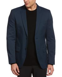 Perry Ellis - Very Slim Fit Iridescent Twill Suit Jacket - Lyst