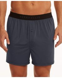 Perry Ellis Solid Luxe Boxer Short - Gray