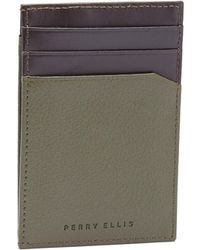 Perry Ellis - Front Pocket Magnetic Clip Wallet - Lyst