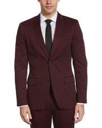 Perry Ellis Very Slim Satin Suit Jacket - Multicolour
