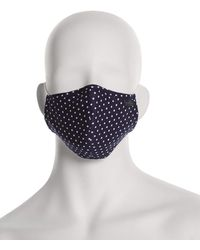 Perry Ellis Reusable Rounded 3 Pack Woven Fabric Face Masks - Multicolor