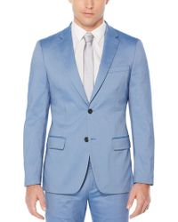 Perry Ellis - Very Slim Iridescent Twill Suit Jacket - Lyst