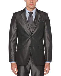 Perry Ellis - Slim Fit Iridescent Twill Suit Jacket - Lyst