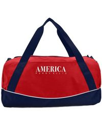 Perry Ellis America Duffle Bag - Red
