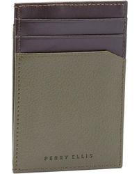 Perry Ellis - Front Pocket Magnetic Clip Wallet - Lyst