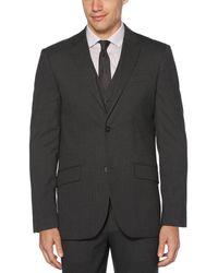 Perry Ellis Non-iron Stripe Stretch Suit Separates Jacket - Grey