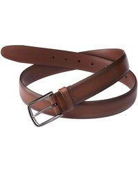 Perry Ellis - Big And Tall Park Ave Leather Belt - Lyst