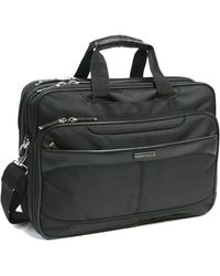 Perry Ellis - Deluxe Easy Scan Briefcase - Lyst