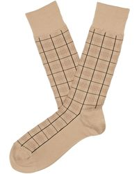 Perry Ellis - Scotland Microfiber Luxury Sock - Lyst