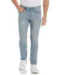 Perry Ellis Very Slim Stretch Denim Jeans - Blue