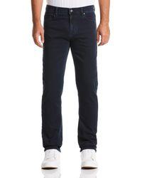 Perry Ellis Slim Fit Indigo 5-pocket Stretch Denim Jean - Blue
