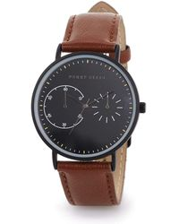Perry Ellis Portfolio Brown Watch - Black