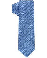 Perry Ellis Slim Wyola Tie - Blue