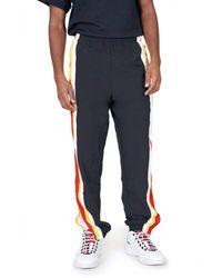 Perry Ellis Racing Stripe Track Pant - Black