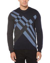 Perry Ellis - Multi-color Modern Argyle Sweater - Lyst