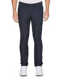 Perry Ellis Very Slim 5 Pocket Denim Jeans - Blue
