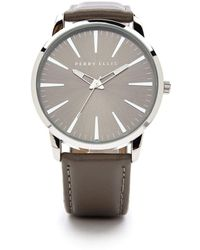 Perry Ellis Portfolio Calvin Watch - Metallic