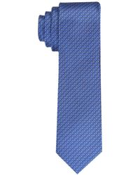 Perry Ellis Taft Neat Tie - Blue