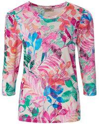 Uta Raasch Shirt 3/4-arm - Pink