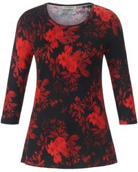 Uta Raasch Le pull manches 3/4 taille 42 - Rouge