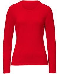 Peter Hahn Cashmere Pullover aus 100% premium-kaschmir - Rot