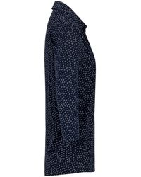 efixelle Jersey-Bluse 3/4-Arm mehrfarbig - Blau